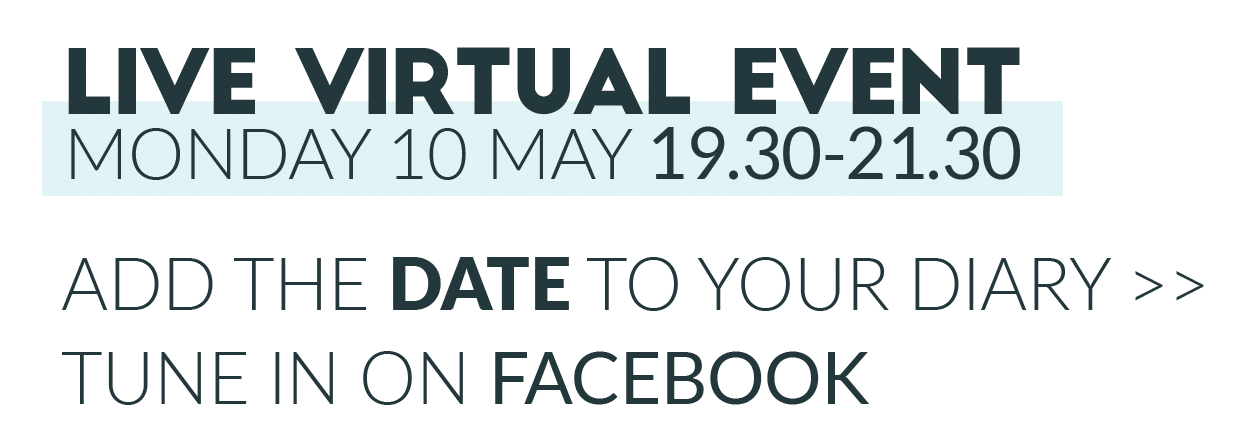 Blonde Unlocked virtual event details, Monday 10 May 19:30 to 21:30
