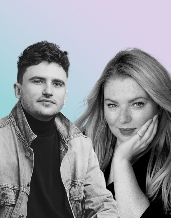 Jack Baxter and Sara Hill, speaking on Creative HEAD magazine's The Blonde Conversation Podcast
