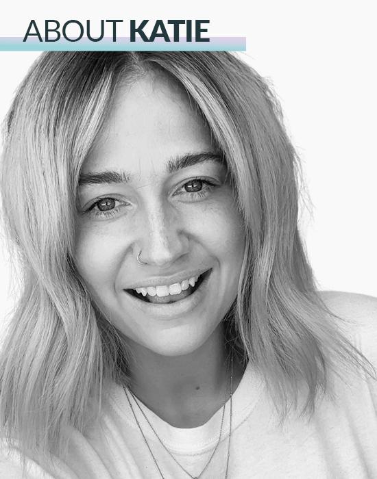 Katie Hale, star of Creative HEAD's The Blonde Conversation podcast