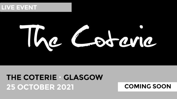 The Coterie Glasgow calendar alert