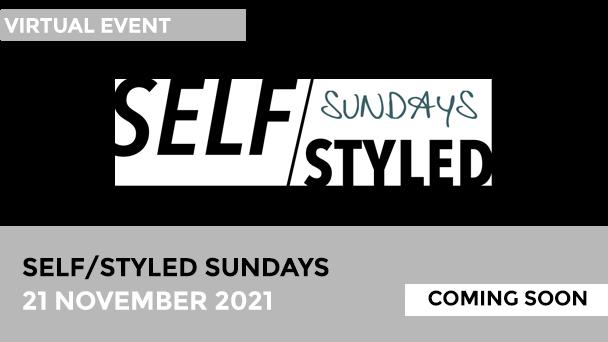 Self/Styled Sundays November calendar alert