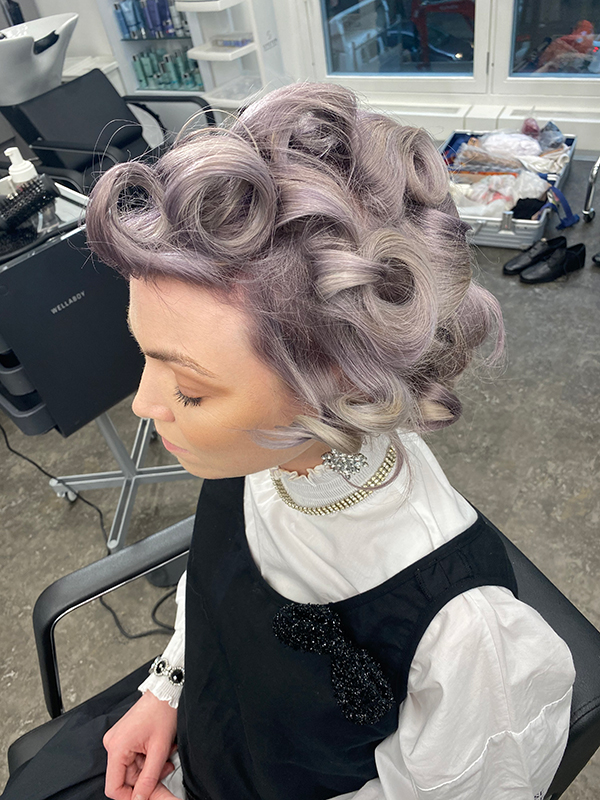 Jayson Gray colouring hair for Wella Professionals WE Create