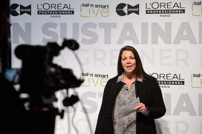 L'Oréal Professionnel's sustainability workshop at Creative HEAD Magazine's Salon Smart Live 2021