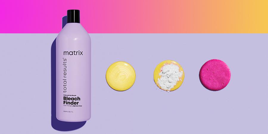 Matrix Bleach Finder Shampoo header