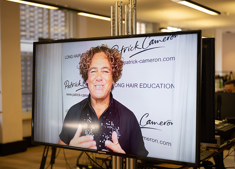 Patrick Cameron on screen for FHA Inspire! event