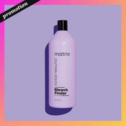 Matrix Bleach Finder shampoo