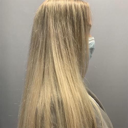 Matrix Unbreak My Blonde before shot of hair