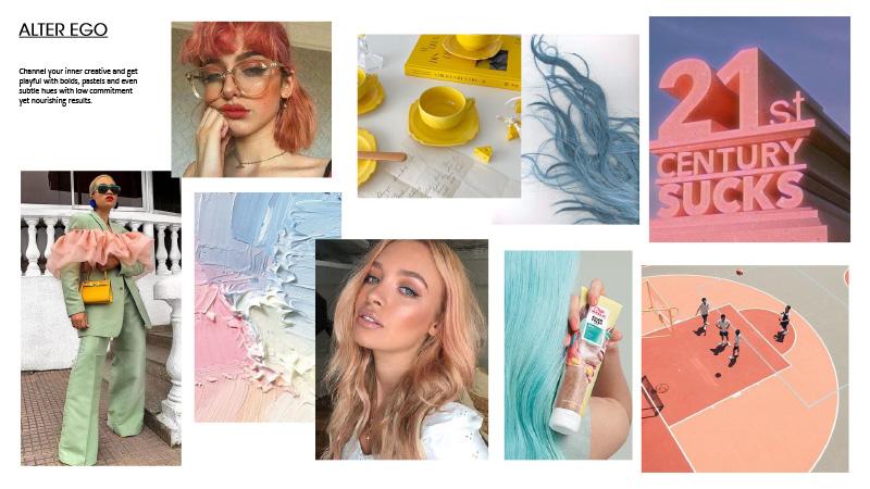 Jordanna Cobella pastel-themed 'Alter Ego' moodboard