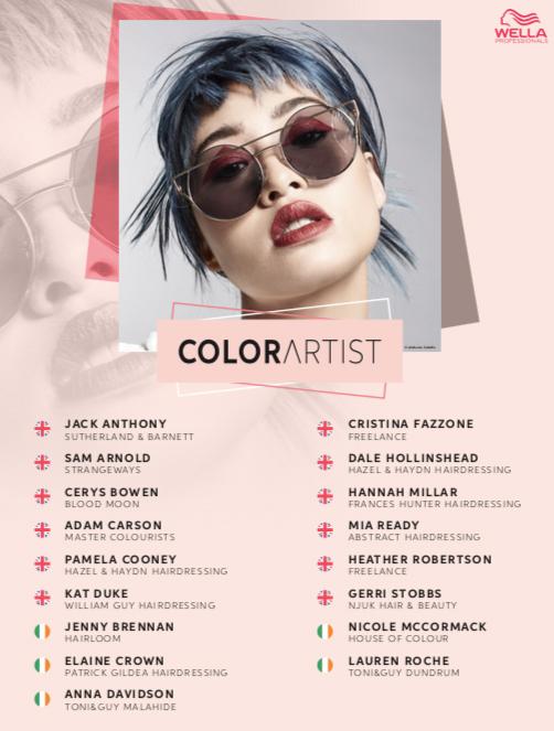 Wella_Color Artist 2021 Semi Finals