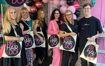 Salons go BIG at the Big Hair Do 2021