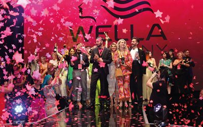 Celebrating success together at Wella TrendVision Award UK & Ireland Final 2021